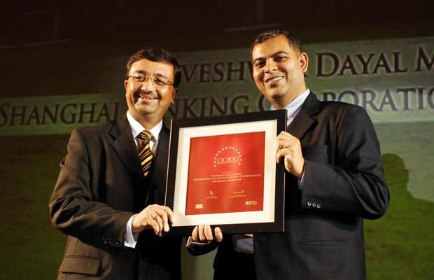 The Agile 100: Devesh Mathur, COO India, HSBC receives CIO100 Award for 2010