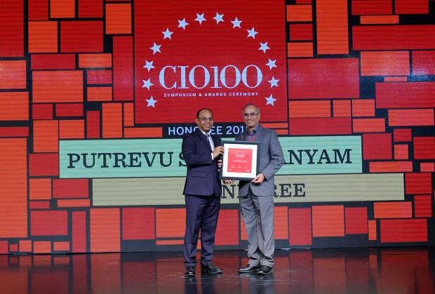 The Digital Architect: Subramanyam Putrevu, CIO of Mindtree, receives the CIO100 award for 2018