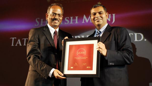 The Agile 100: Shirish Munj, VP - IT Ops of Tata Teleservices receives the CIO100 Award for 2010