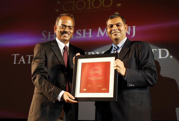 The Agile 100: Shirish Munj, VP - IT Ops of Tata Teleservices receives the CIO100 Award for 2010
