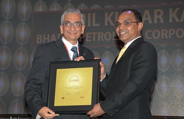 The Astute 100: Anil Kumar Kaushik, GM-Infrastructure and Services, Bharat Petroleum (BPCL) receives the CIO100 Award for 2013