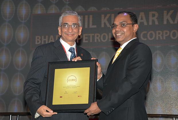 The Astute 100: Anil Kumar Kaushik, GM-Infrastructure and Services, Bharat Petroleum (BPCL) receives the CIO100 Award for 2013