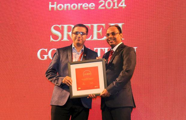 The Dynamic 100: Sreeji Gopinathan, Regional IS Director of RB India receives the CIO100 Award for 2014