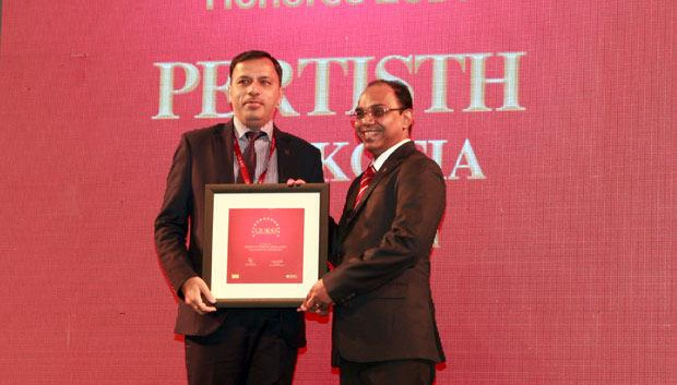 The Dynamic 100: Pertisth Mankotia, Head - IT of Sheela Foam (Sleepwell) receives the CIO100 Award for 2014