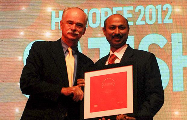 The Resilient 100: Satish Kumar Das, CSO & VP, Cognizant Technology Solutions India receives the CIO100 Award for 2012.