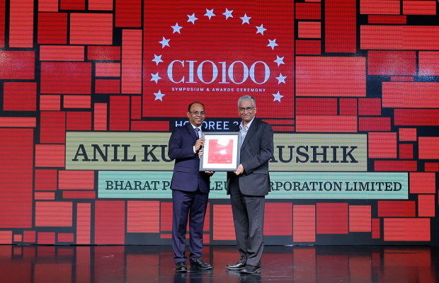 The Digital Architect: Anil Kumar Kaushik, ED (IS) Group Refineries, Bharat Petroleum Corporation receives the CIO100 Award for 2018