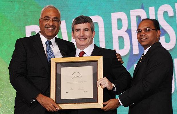Super League: David Briskman, VP & CIO of Ranbaxy Laboratories receives the CIO100 Special Award for 2012
