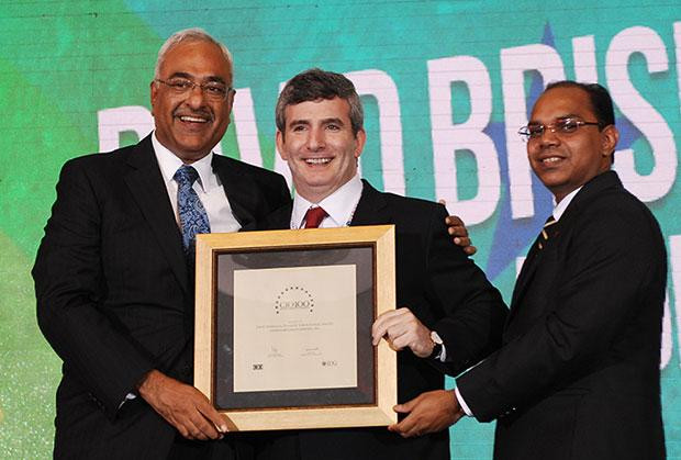 Super League: David Briskman, VP & CIO of Ranbaxy Laboratories receives the CIO100 Special Award for 2012