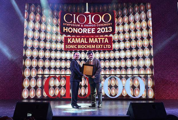 The Astute 100: Kamal Matta, CIO and CSO at Sonic Biochem receives the CIO100 Award for 2013