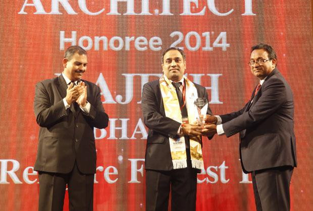 Innovation Architect: Rajesh Bhatia, Sr.VP & Head IT of Religare Finvest receives the CIO100 Special Award for 2014, constituted in association with Wipro