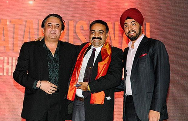 Infrastructure: Venkatakrishnan B B, Head - IT of Mahindra Vehicle Manufacturers receives the CIO100 Special Award for 2012 , constituted in association with Tulip Telecom