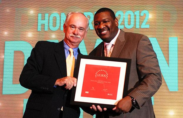The Resilient 100: Damon Frost, Associate Director - IT of Procter & Gamble India receives the CIO100 Award for 2012