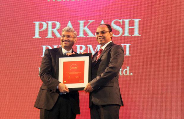 The Dynamic 100: Prakash Dharmani, Global CIO of Essel Propack receives the CIO100 Award for 2014