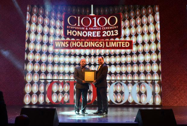 The Astute 100: Raghavendra R, Sr. GM IT Leadership of WNS Global Services receives the CIO100 Award for 2013