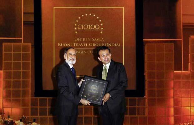 The Ingenious 100: Dhiren Savla, CIO of VFS Global receives the CIO100 Award for 2009