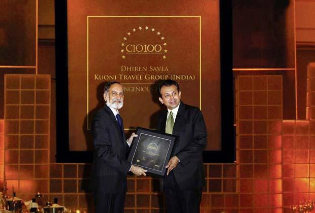 The Ingenious 100: Dhiren Savla, CIO of VFS Global receives the CIO100 Award for 2009