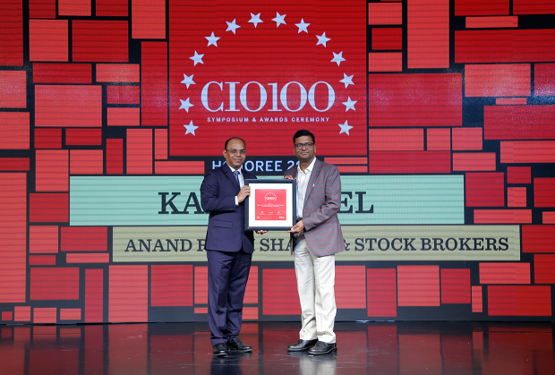The Digital Architect: Kamal Goel, Senior Vice President- IT, Anand Rathi Group receives the CIO100 Award for 2018.