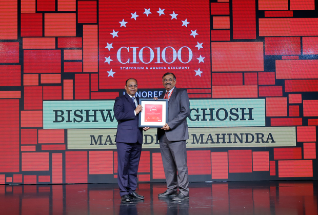 The Digital Architect: Bishwanath Ghosh CIO-Enterprise & Corporate Functions, Mahindra & Mahindra receives the CIO100 Award for 2018