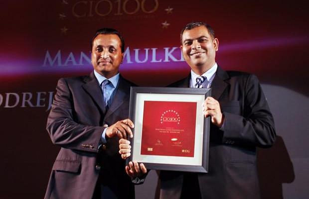 The Agile 100: Mani Mulki, Executive VP (Corporate IT) of Godrej Industries receives the CIO100 Award for 2010