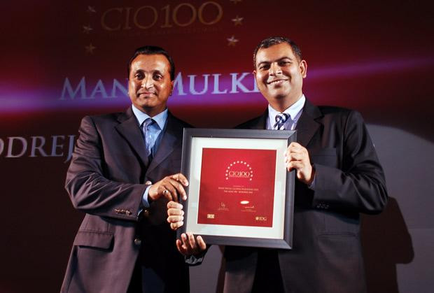 The Agile 100: Mani Mulki, Executive VP (Corporate IT) of Godrej Industries receives the CIO100 Award for 2010