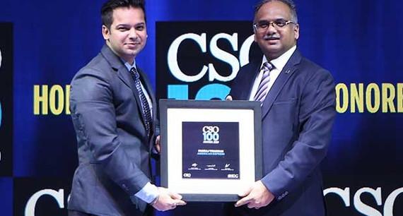 Pankaj Thakkar, information security risks expert at American Express receives the CSO100 Award for 2019