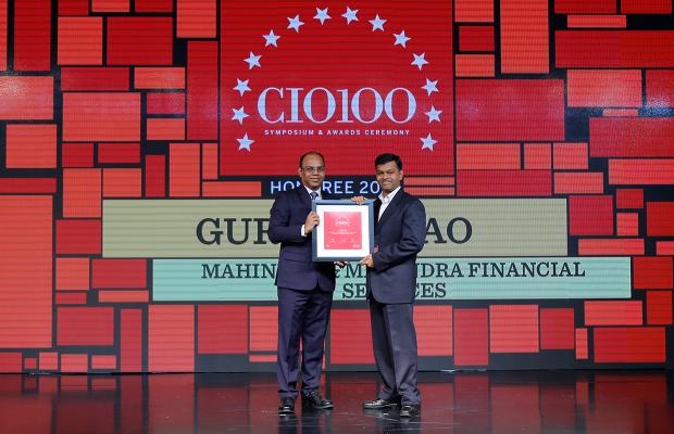 The Digital Architect: Gururaj Rao, Head of IT at Mahindra & Mahindra Financial Services receives the CIO100 Award for 2018