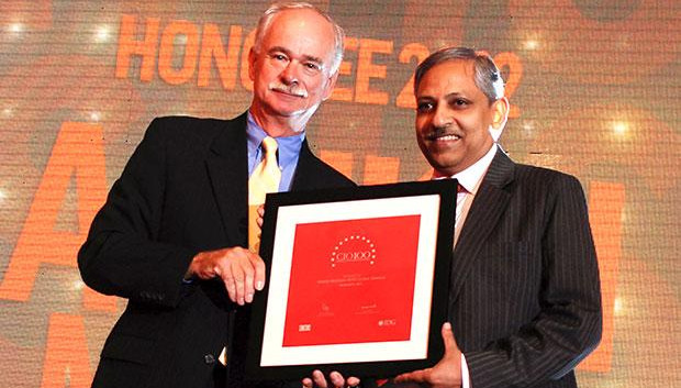 The Resilient 100: Ashish Mathur, CIO of WNS Global Services receives the CIO100 Award for 2012