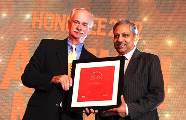 The Resilient 100: Ashish Mathur, CIO of WNS Global Services receives the CIO100 Award for 2012