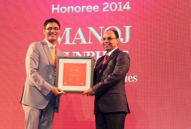 The Dynamic 100: Manoj Kumbhat, Sr. VP & Global CIO, HCL Technologies receives the CIO100 Award for 2014