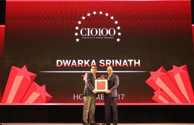 The Digital Innovators: Dwarka Srinath, CIO, Tata Sky receives the CIO100 Award for 2017