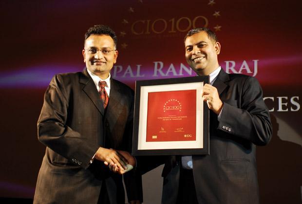 The Agile 100: Gopal Rangaraj, Senior VP - IT, Reliance Life Sciences receives the CIO100 Award for 2010.