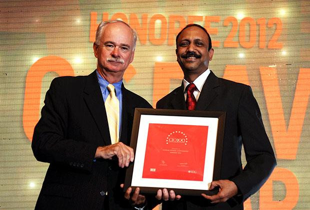 The Resilient 100: G S Ravi Kumar, CIO of Gati receives the CIO100 Award for 2012
