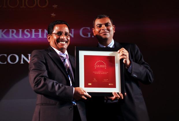 The Agile 100: Radha Krishnan Menon, IT Head of Biocon receives the CIO100 Award for 2010