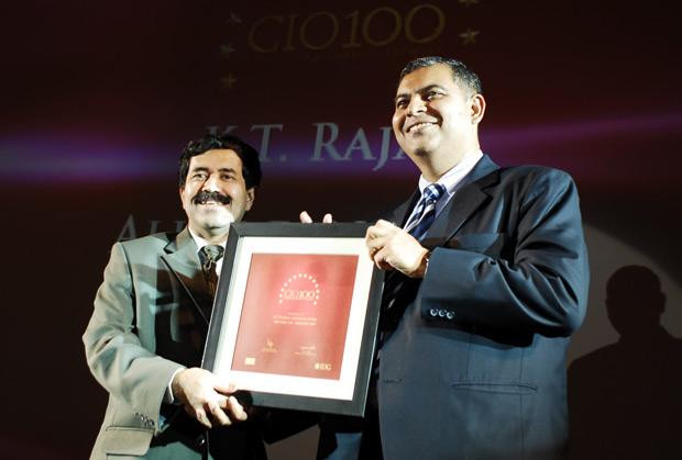 The Agile 100: K T Rajan, Director-Operations, IT and Projects of Allergan India receives the CIO100 Award for 2010