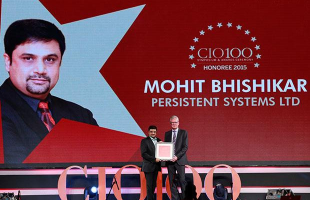The Versatile 100: Mohit Bhishikar, CIO, Persistent Systems receives the CIO100 Award for 2015
