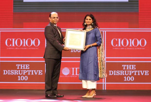 The Disruptive 100: Srilakshmi Sanikommu, IT Head, Procter & Gamble India receives the CIO100 Award for 2019