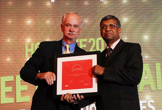The Resilient 100: V Seetharamiah, CIO of Paradeep Phosphates receives the CIO100 Award for 2012