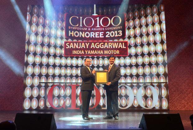 The Astute 100: Sanjay Aggarwal, CTO of Yamaha Motor Solutions receives the CIO100 Award for 2013