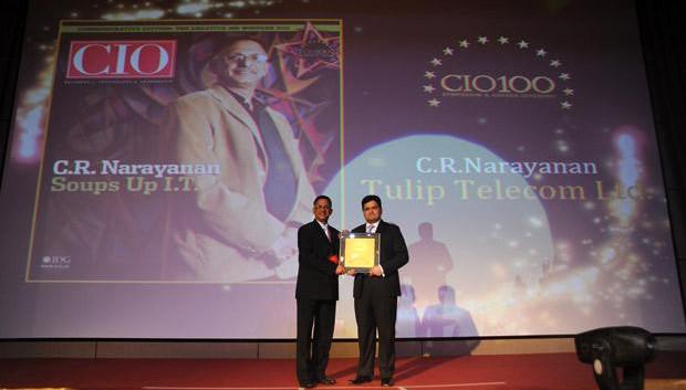 The Creative 100: Sankaranarayanan Raghavan, COO of Aegon Religare Life Insurance receives the CIO100 Award for 2011