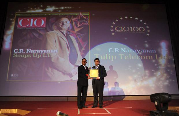 The Creative 100: Sankaranarayanan Raghavan, COO of Aegon Religare Life Insurance receives the CIO100 Award for 2011