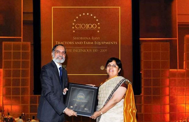 The Ingenious 100: Shobhna Ravi, chief information and learning officer, receives the CIO100 Award for 2009