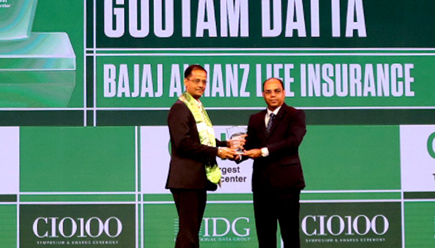 Business Transformer: Goutam Datta, Chief Information & Digital Officer, Bajaj Allianz Life Insurance receives the CIO100 Special Award for 2019