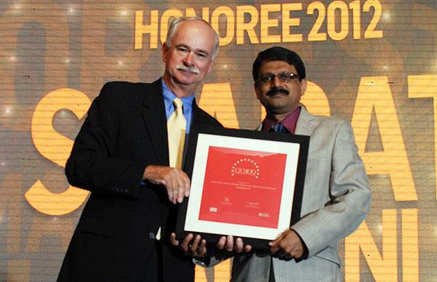 The Resilient 100: Sharat M Airani, Chief IT (System and Security) of Forbes Marshall Group of Companies receives the CIO100 Award for 2012