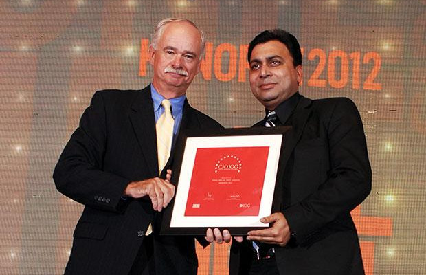 The Resilient 100: Sunil Sirohi, Sr. VP - IT of NIIT receives the CIO100 Award for 2012