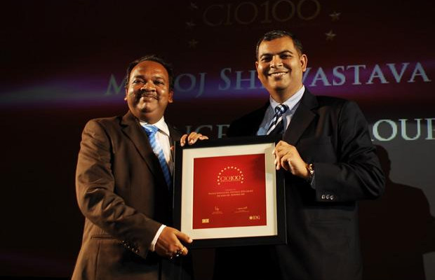 The Agile 100: Manoj Shrivastava, VP-Group IT of Reliance Industries receives the CIO100 Award for 2010
