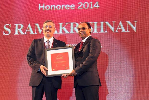The Dynamic 100: S Ramakrishnan, Divisional VP-IT at United Breweries receives the CIO100 Award for 2014