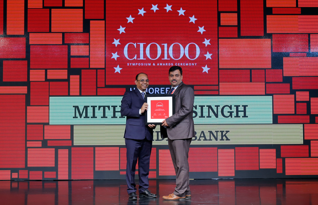 The Digital Architect: Mithilesh Singh, Senior Director– Head Technology Audit at IDFC Bank receives the CIO100 Award for 2018