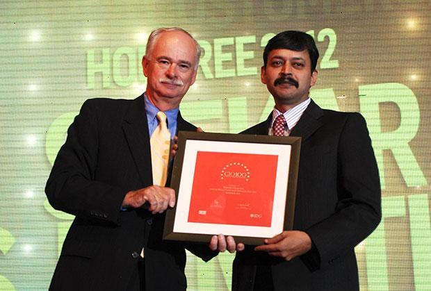 The Resilient 100: Shekar Kamath, Vice President & Head IT of Aditya Birla Customer Services receives the CIO100 Award for 2012