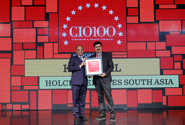 The Digital Architect: Kapil Pal, APAC Head–IT Service Management and IT Operations, Holcim Services South Asia receives the CIO100 Award for 2018