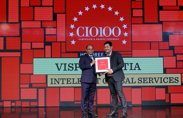 The Digital Architect: Vispi Palsetia, Director– IT at Intelenet Global Services receives the CIO100 Award for 2018